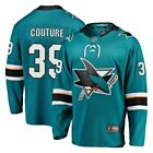 Logan Couture San Jose Sharks Fanatics Branded Breakaway Jersey Teal