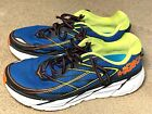 HOKA One One Clifton 3 Men's Running Shoes Blue Yellow Orange 1012046 BRON Sz 11