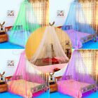 Mosquito Net Bed Queen Size Home Bedding Lace Canopy Elegant Netting Princess image