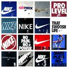 NIKE Men's Tee T SHIRT Graphic Swoosh Just Do It Logo M L XL 2XL 3XL Regular Fit image