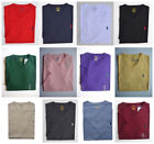 Men Polo Ralph Lauren V NECK T Shirt Size S M L XL XXL - STANDARD FIT image