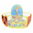 Foldable Ocean Ball Pit Pool Tent Kids Play Set Outdoor Play House Toy