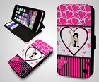 Betty Boop Cartoon Kiss Pink Sexy Vintage Leather Wallet Flip Phone Case Cover £9.99 GBP on eBay
