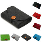 Felt Storage Case Bag Pouch Charger Sleeve Travel Cable Organizer Shockproof