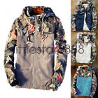Men's Hoodies thin baseball uniform jacket Flora Casual Sports coat Windbreaker