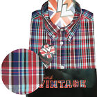 Warrior UK England Button Down Shirt MORWELL Hemd Slim-Fit Skinhead Mod