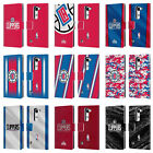 OFFICIAL NBA LOS ANGELES CLIPPERS LEATHER BOOK WALLET CASE COVER FOR LG PHONES 2 on eBay