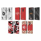 OFFICIAL NBA 2018/19 ATLANTA HAWKS LEATHER BOOK CASE FOR BLACKBERRY ONEPLUS