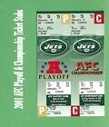 New York Jets Yearbooks, Stickers/Album, GAMEDAY Programs, PLAYBOOKS & MORESports Stickers, Sets & Albums - 141755