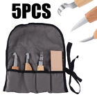 2/3/5pcs Wood Carving Cutter Knives Tool Set Woodworking Chip Hand Chisel Kit