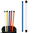 Golf Alignment Rods Training Aid 2 Pack Sticks Swing Tour Trainer 5 Colors US