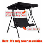 Replacement Canopy Spare Cover For Garden Swing Hammock Seat Sun Shade