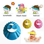 Baby Waterproof Bathing Cap Safe Shower Protection Soft Adjustable Wash Hair New
