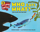 Who Eats What? Pb BOOK NEW