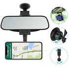 Adjustable Car Rear View Mirror Phone Mount Powerful Magnetic Holder Universal