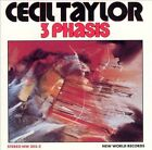 3 Phasis by Cecil Taylor (CD, 1979, New World Records)