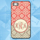 New Monogram Phone Case for iPhone X- 5/5S Case - 5C - 6 - 6 Plus