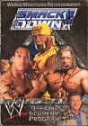 Chris Kanyon Scott Steiner Nidia + Signed 2002 WWE Program Cover BAS Beckett COA
