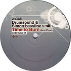 "Drumsound & Simon Bassline Smith* - Time To Burn / Barcode, 12"", (Vinyl)"