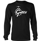 Limited Gretsch Sound Black Long Sleeve Shirt S-2XL