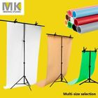 Backdrop Support Stand PVC Photography Photo Studio Background Clamp Multi-size
