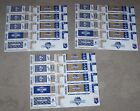 Lot of 3 2015 Kansas City Royals Postseason Ticket Strips on Ebay