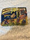 RARE Kenner 1994 Reign of the Supermen ACTION MASTERS Die Cast CYBORG SUPERMAN +