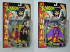 X-Men - NINJA FORCE Space PSYLOCKE & DEATHBIRD Action Figure ToyBiz 1996 MOC SET