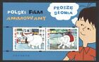 POLAND 2018 ANIMATION CARTOON ELEPHANT PROSZE STONIA SOUVENIR SHEET OF 2 STAMPS