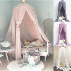 Girl Baby Bed Canopy Bedcover Mosquito Net Curtain Bedding Dome Tent Room Decor image