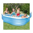 """Intex Swim Center Family Inflatable Pool, 90"""" X X 22"""", for Ages 6+, Color..."""