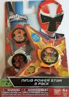 Power Rangers Ninja Steel - Ninja Power Star 3 Pack, SERIES 1 and 2