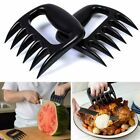 2 PC Black Meat Claws Bear Claws for Shredding Handling Mixing Carving Food BBQ