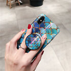 Shiny Mermaid Case With Holder Phone For Iphone 6 7 8 Plus X Cases