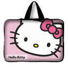 Laptop Notebook Tablet Sleeve Case Bag Cover 10 12 13 14 15 17 inch Hello Kitty