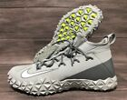 Внешний вид - Nike Alpha Huarache 6 Elite Turf LAX Lacrosse Cleats Mens 12.5 Grey White 923426