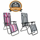 Trespass Glentilt Padded Reclining Garden Camping Chair Free Next Day Delivery
