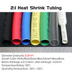 Dia 6.0mm Heat Shrink 2:1 Tubing Electrical Sleeving Cable Wire - Various Colors