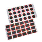 24pcs 25mm round square bicycle bike tire tyre rubber patch repair tools kits/M