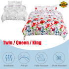 Comfort 2/3 Piece Comforter Cover Set for Comforter Bedding Twin/Full/Queen NEW