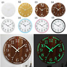 Внешний вид - 12'' Wall Clock Glow In The Dark Silent Quartz Indoor Outdoor Luminous Decor