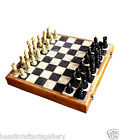 """8"""" Marble Wooden Chess Set Shopping Stone Pieces Gifts Home Decor H659A"""