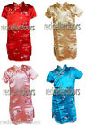 New Girls Chinese Cheongsam Size 2T Baby Girls Adorable Dress Pink Red Blue Gold