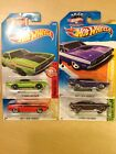 1/64 Hot Wheels 1971 Dodge Challnger R/T (4 total)