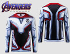 Avengers 4 Endgame Quantum Realm 3D Hero's Cosplay Advanced Costume T-Shirt