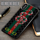 Gucci160 Snake Cover iPhone 5s 6s 7 8 X XR XS Max Samsung Galaxy S10 Plus Case
