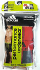 Men's Adidas Climalite Boxer Briefs / Performance Underwear 2-Pack Red / Black