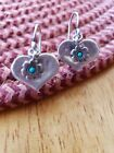 Didae Isreal Sterling Heart Earrings