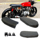 Retro Cafe Racer Flat&Hump Saddle Seat For Suzuki GS550 750 Kawasaki KZ650 400 G $44.6 USD on eBay