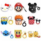 Cute Favorite Cartoon Silicone Airpods Case Cover For Apple Airpods Accessories $8.99  on eBay